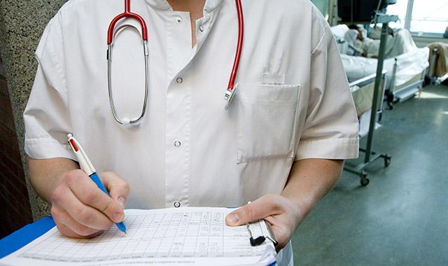 afbeelding van dokter of verpleegkundige